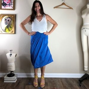 Vintage Missoni Smocked Midi Skirt